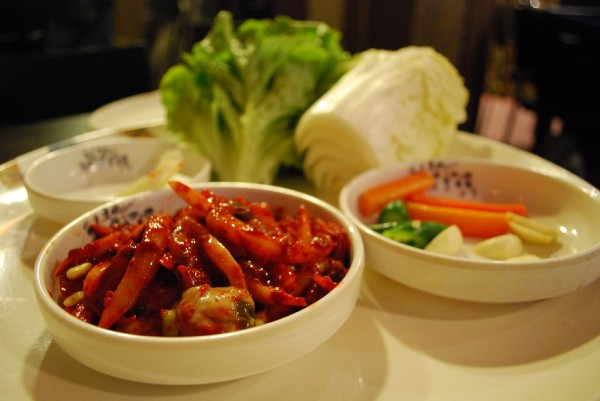 chilly vegetables and pork