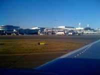 Sydney Airport from a distance