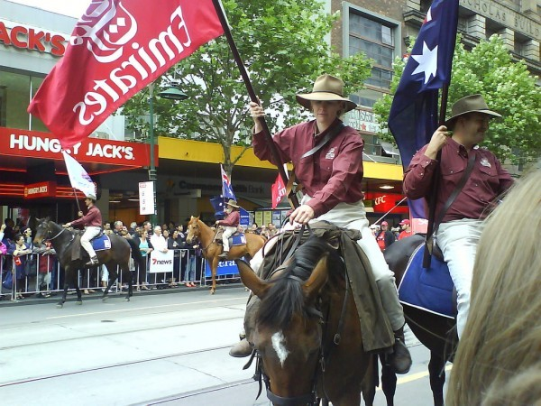 festivities in Melbourne
