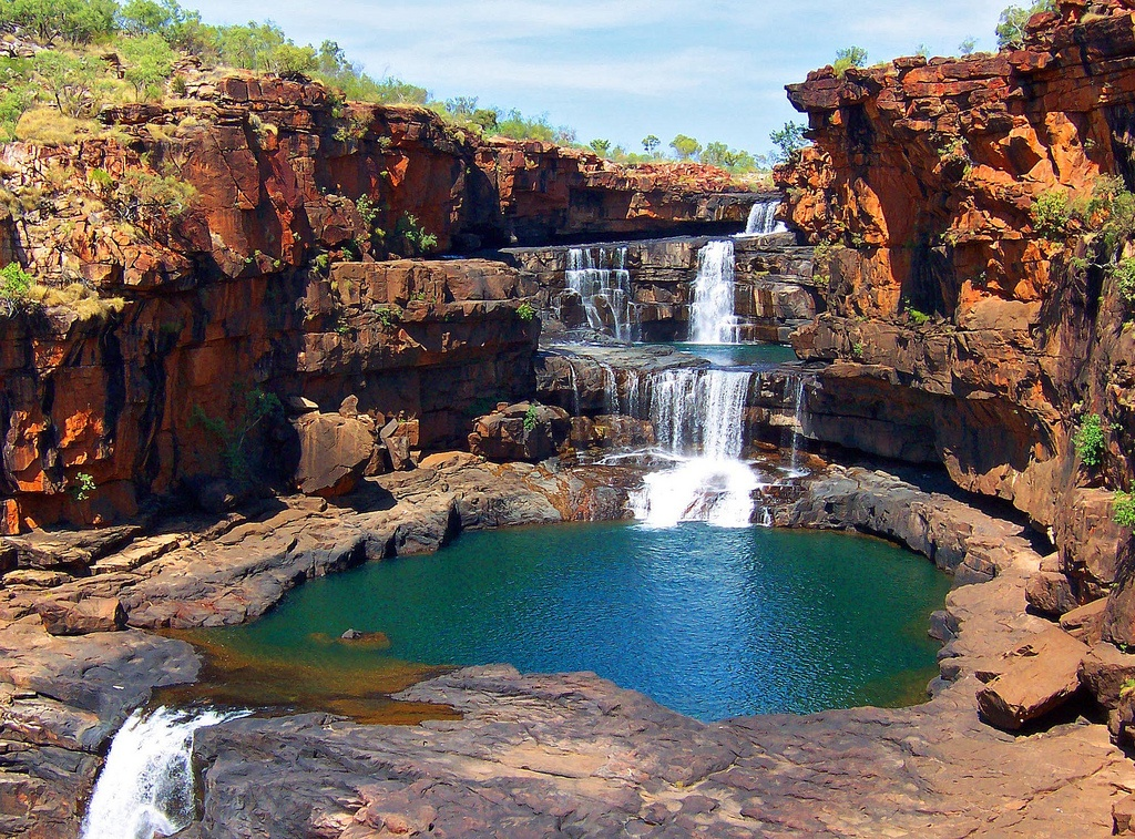 Most spectacular australian waterfalls for Most spectacular waterfalls